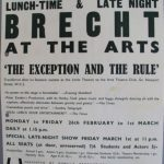 The Exception and the Rule by Brecht. Arts Theatre transfer