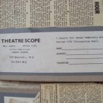 Theatrescope membership card
