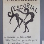 Escurial by Ghelderolde. Theatrescope Lunch-Hour Plays.