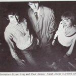 Bryan King, Paul Adams,  Sarah Evans. Theatrescopy.
