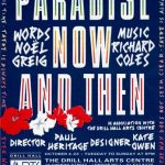 Paradise Now and Then by Noel Greig and Ricahrd Coles (music). Gay Sweatshop, 1989. Programme cover design: Angela Stewart Park.
