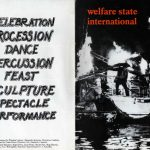 Welfare State International booklet. Photos by Roger Perry.